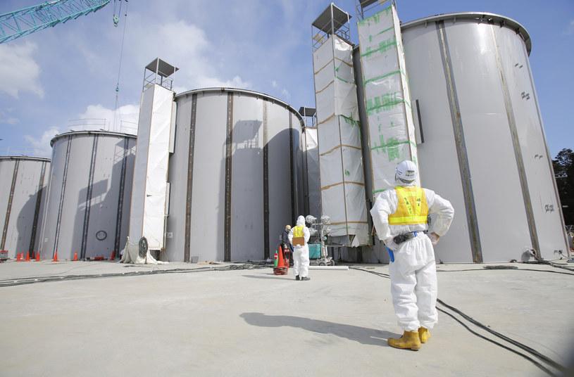 W Fukushimie znajduje się w naruszona przez trzęsienie i tsunami elektrownia atomowa /AFP