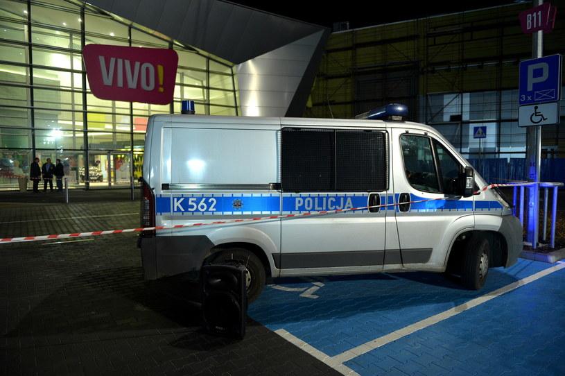 W galerii handlowej w Stalowej Woli doszło do ataku nożownika /Darek Delmanowicz /PAP