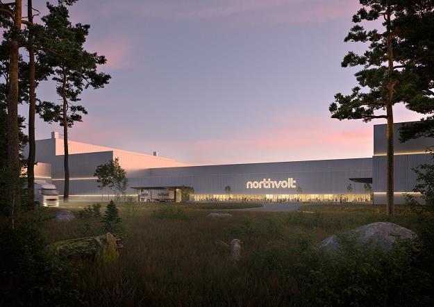 W Gdańsku ma powstać fabryka systemów bateryjnych Northvolt /Informacja prasowa
