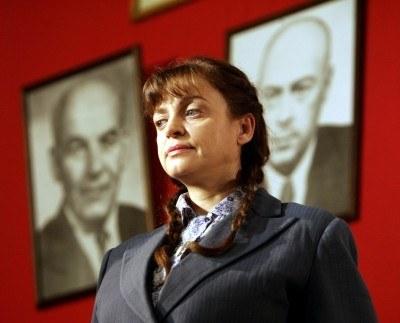 W Gdańsku premierę będzie miał film Schloendorffa o Annia Walentynowicz (kadr z planu) /AFP