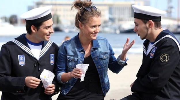 W Gdyni Alą troskliwie zaopiekują się marynarze. /www.mjakmilosc.tvp.pl/