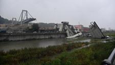W Genui zawalił się most na autostradzie. Zginęło 30 osób