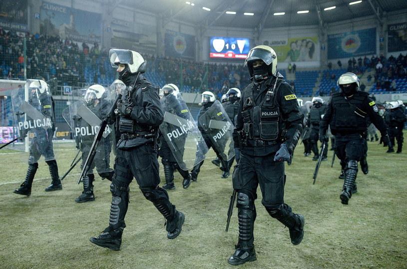 W Gliwicach musiała interweniować policja /Marek Zimny /PAP