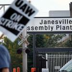 W GM  wielki strajk