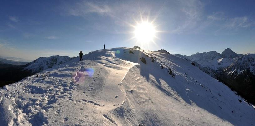 W górach trzeba przede wszystkim myśleć /Adrian Gladecki/REPORTER /East News