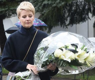 """W Górze Kalwarii pojawiła się też Małgorzata Kożuchowska, która w """"M jak miłość"""" wcielała się w postać Hanki Mostowiak."""