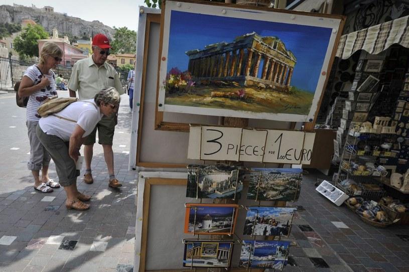 W Grecji największe hipermarkety także są zamknięte w niedziele /AFP