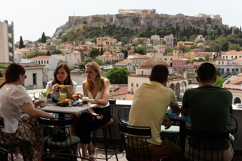 W Grecji spada liczba zakażeń /Marios Lolos/Xinhua News /East News