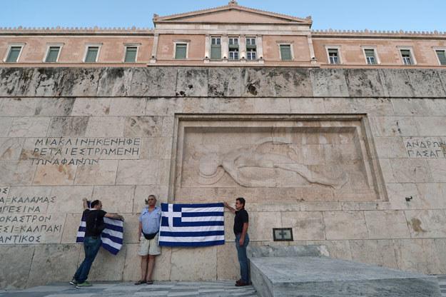 W greckim parlamencie trwają intensywne prace /AFP