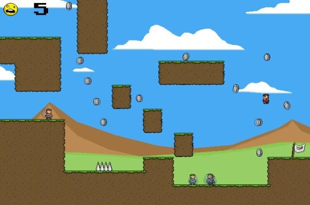 """W grze """"Addicsjon"""" sterujemy narkotycznym odpowiednikiem Mario /Internet"""
