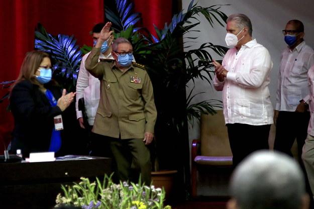 W Hawanie trwa kongres Partii Komunistycznej, podczas którego 90-letni dyktator ma ogłosić nazwisko swojego następcy /ARIEL LEY ROYERO /PAP/EPA
