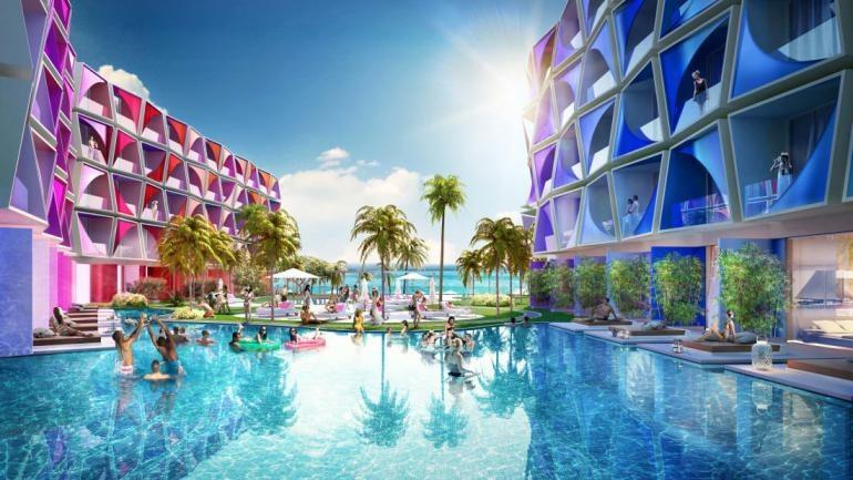 W Heart of Dubai powstanie 13 hoteli i ponad 4000 willi /materiały prasowe