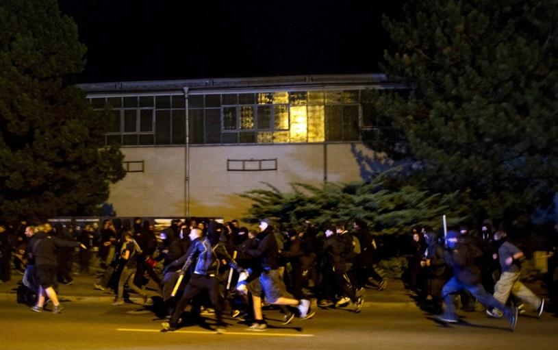 W Heidenau doszło do zamieszek /PAP/EPA