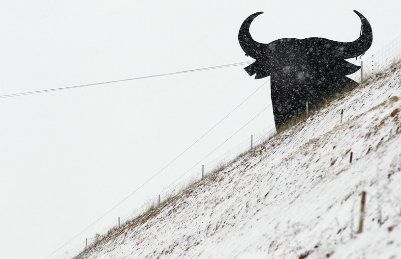 W Hiszpanii spadł śnieg /AFP