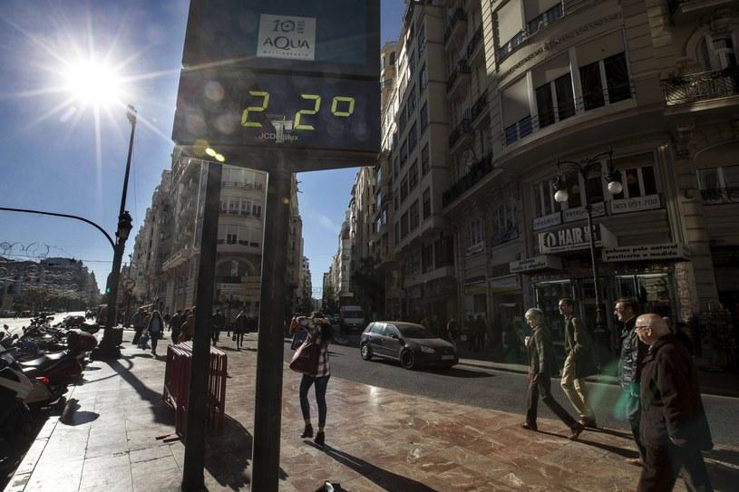 W Hiszpanii termometry wskazują ponad 20 st. Celsjusza /PAP/EPA