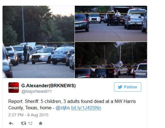 W Houston znaleziono 8 ciał /Twitter