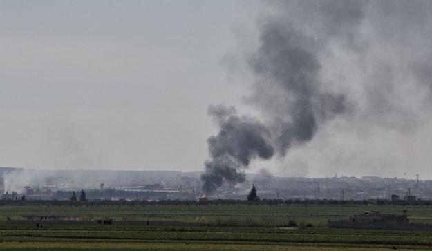 W Idlib trwają walki fot. Karam Al-Masri /AFP