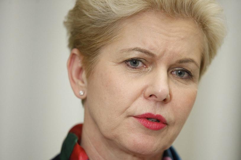 W imieniu Koalicji Obywatelskiej poprawkę złożyła senator Beata Małecka Libera (na zdj.) /STEFAN MASZEWSKI/REPORTER /Reporter