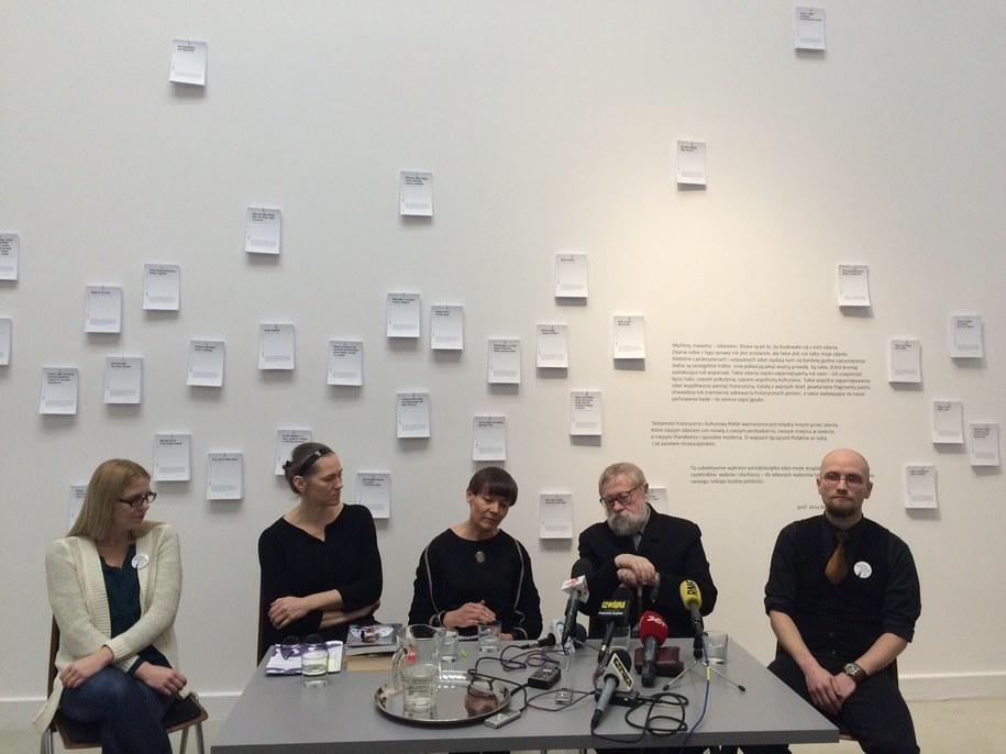 W inauguracji projektu wziął udział m.in. prof. Jerzy Bralczyk /Adam Górczewski /RMF FM