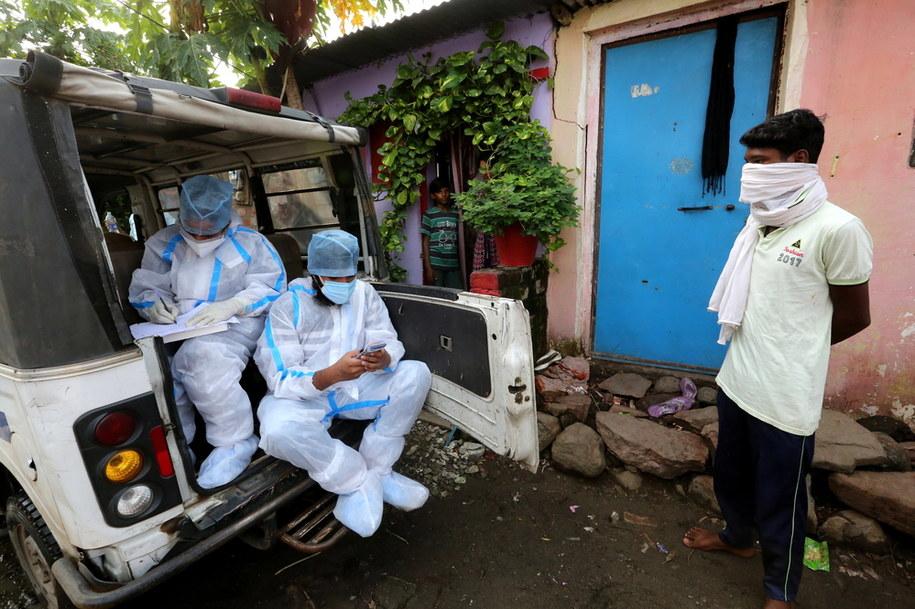 W Indiach kolejny rekord - blisko 25 tys. zakażonych koronawirusem /SANJEEV GUPTA    /PAP/EPA