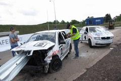 W Inowrocławiu przeprowadzono symulację wypadku Kubicy