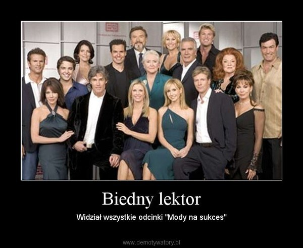 W internecie serial często staje się obiektem żartów. /Demotywatory.pl /internet