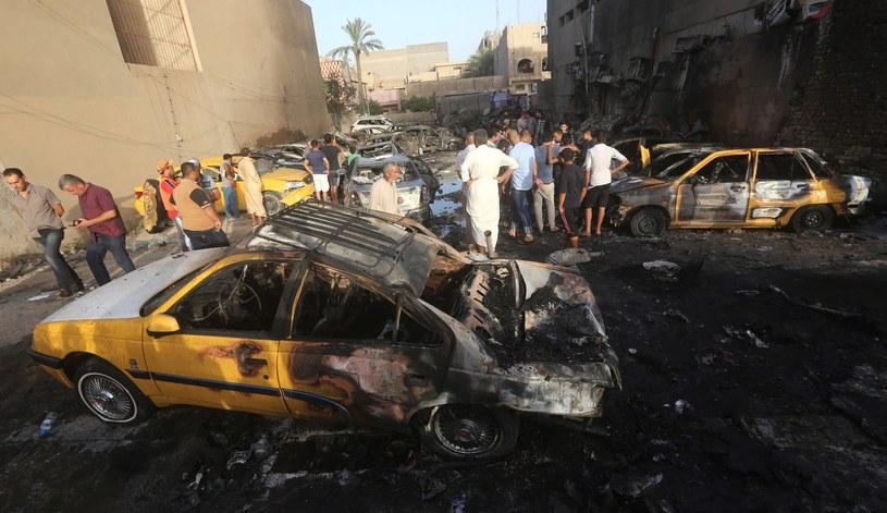 W Iraku często dochodzi do zamachów bombowych, zdj. ilustracyjne /AFP