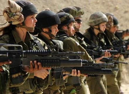 W izraelskiej armii kobiety służą od lat. /AFP