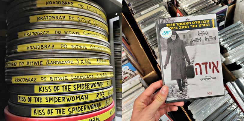 """W Izraelskim Archiwum Filmowym znalazłem kopię """"Krajobrazu po bitwie"""" Andrzeja Wajdy. W sklepiku festiwalowym natknąłem się na DVD z """"Idą"""" /INTERIA.PL"""