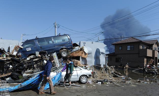 W Japonii mogło zginąć ponad 10 tys. ludzi /AFP