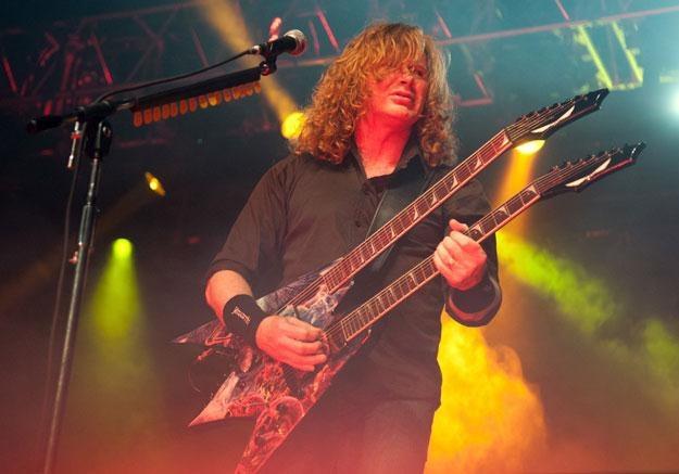 W Jaworznie wystąpi m.in. Megadeth fot. Daniel Boczarski /Getty Images/Flash Press Media