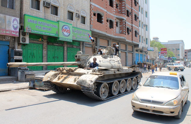W Jemenie toczą się działania wojenne fot. Saleh Al-Obeidi /AFP