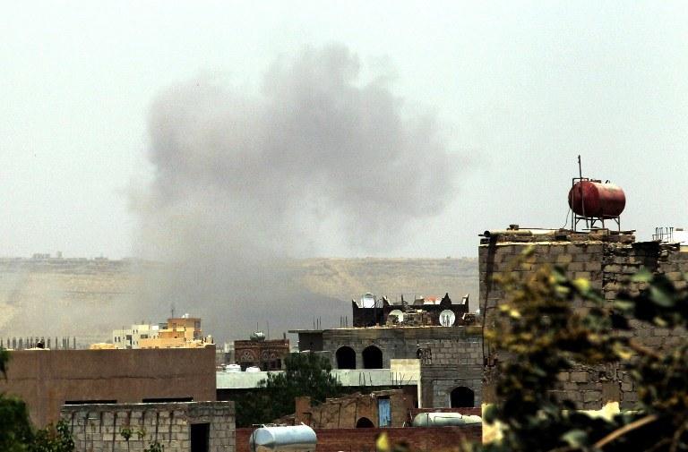 """W Jemenie trwa operacja """"Decydująca burza"""" /AFP"""