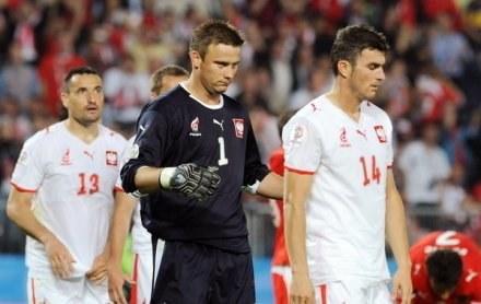 W kadrze zabrakło miejsca dla Artura Boruca i Michała Żewłakowa /AFP
