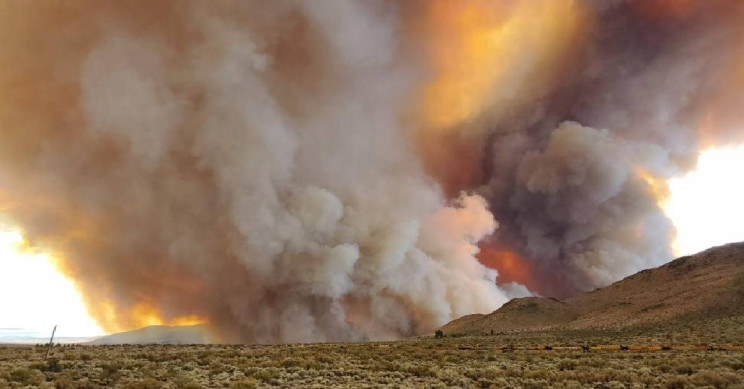 W Kalifornii pojawiło się ogniste tornado /materiały prasowe
