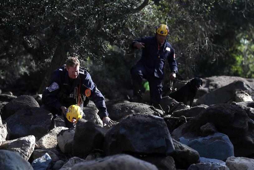 W Kalifornii trwają akcje ratunkowe /AFP