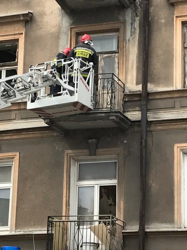 W kamienicy zawalił się strop /Krzysztof Kot /RMF FM
