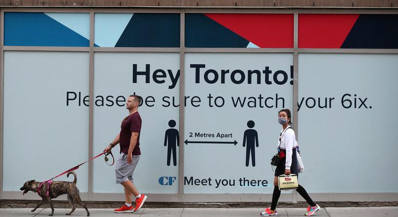W Kanadzie trwa druga fala epidemii koronawirusa /Steve Russell/Toronto Star /Getty Images