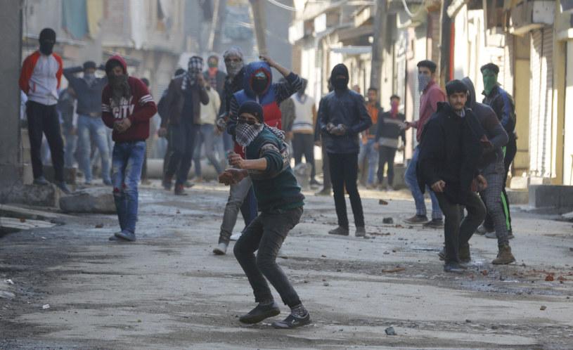 W Kaszmirze wybuchły zamieszki /AFP