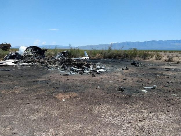 W katastrofie zginęło 13 osób. /LA VOZ DE MONCLOVA / HANDOUT /PAP/EPA