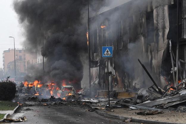 W katastrofie zginęło 8 osób /Andrea Fasani /PAP/EPA