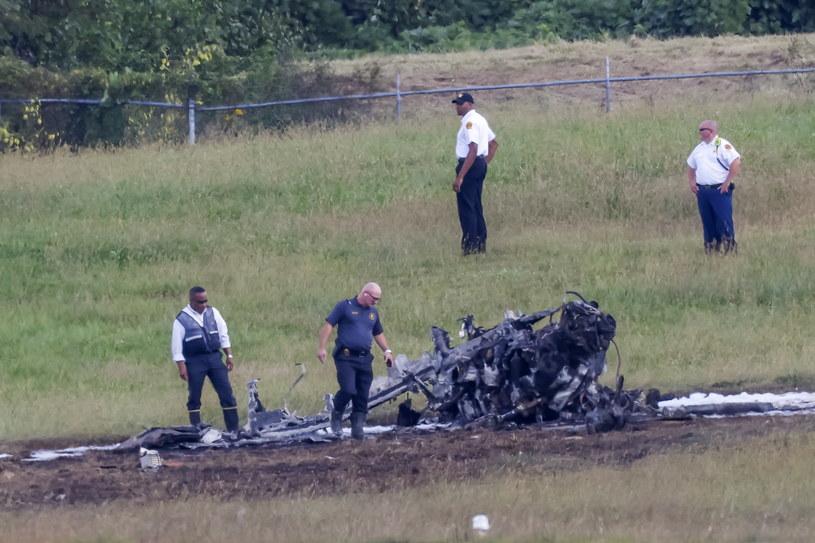 W katastrofie zginęły cztery osoby /PAP/EPA/ERIK S. LESSER /PAP