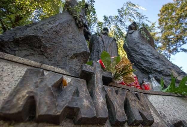 W Katyniu dopuszczono się ludobójstwa /AFP