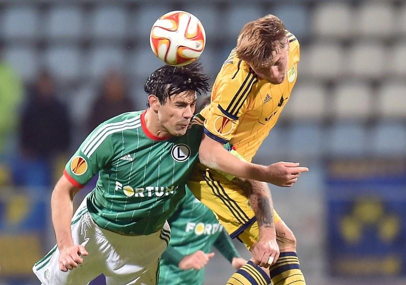 W Kijowie Legia wygrała z Metalistem 1-0 /AFP