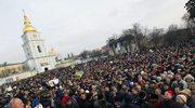 W Kijowie rozpoczęła się wielka demonstracja prounijna