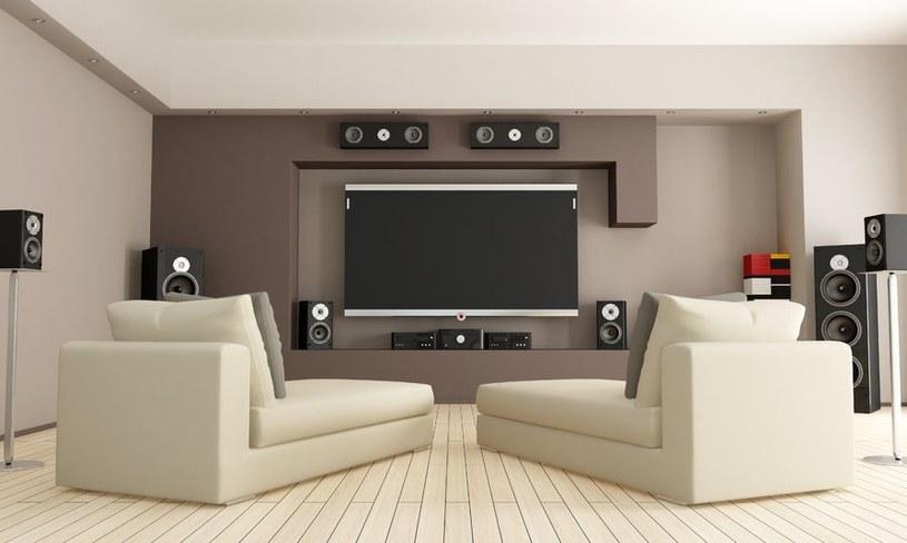 W kinie domowym zamiast telewizora wykorzystać można projektor. /123RF/PICSEL