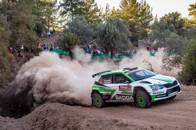 W klasyfikacji WRC2 Skoda okazała się niepokonana /