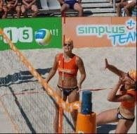 W Kołobrzegu odbędzie się finał mistrzostw Polski w siatkówce plażowej kobiet /W. Forbert