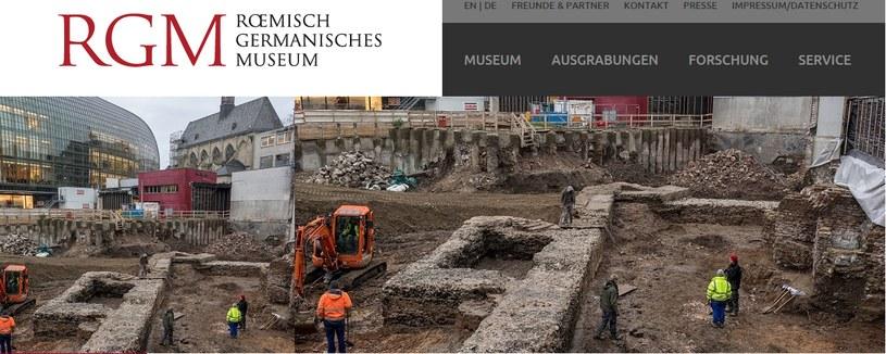 W Kolonii odkryto najstarszą bibliotekę w Niemczech /roemisch-germanisches-museum.de /