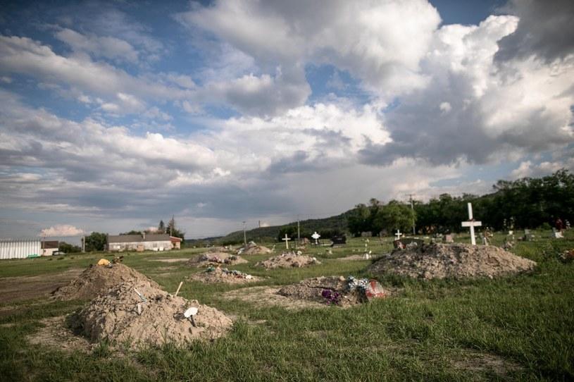 W Kolumbii Brytyjskiej znaleziono co najmniej 160 nieoznaczonych grobów /Abaca /East News